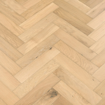 Shandy Herringbone - 90mm x 14/3mm x 400mm Rustic Grade Brush & UV Oiled Engineered Wood Flooring