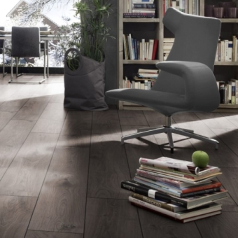 Atlas Oak Anthracite 12mm Kronotex Robusto Laminate Flooring
