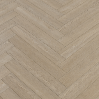Pro-Tek SPC Editions Herringbone Woburn Sand Engineered Vinyl Click Flooring