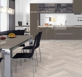 Trends in Grey and White Herringbone Engineered Wood Flooring
